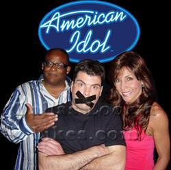 American Idol Judges Celebrity Impersonator Pic