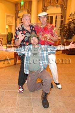 Cast of Caddyshack Celebrity Impersonator Pic