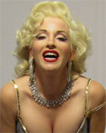Marilyn Monroe Celebrity Impersonator Pic