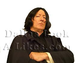 Professor Snape Celebrity Impersonator Pic